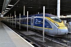 e320 Eurostar 4009 at London St Pancras (Tim R-T-C) Tags: railroad london station train eurostar railway mainline e320 londonstpancras class374 374009