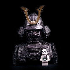 Storm Trooper & his Master (rabbit7419999) Tags: starwars master stormtrooper a99 sal85f14za