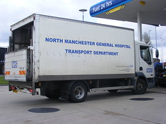 4234 - NMGH - MW03 OGF - 002 (Call the Cops 999) Tags: uk england west hospital manchester general britain united great north transport kingdom health national nhs trust gb vehicle service lf oldham healthcare pennine daf ogf deprtment mw03 nmgh