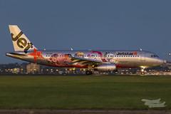 VH-VQG JQ A320 34R YSSY 'Snoopy'-0608 (A u s s i e P o m m) Tags: australia snoopy airbus newsouthwales jetstar botany syd a320 sydneyairport jq yssy