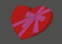 Mother's Day - Love Gift Box Free Papercraft Download (PapercraftSquare) Tags: love box mothersday valentinesday giftbox