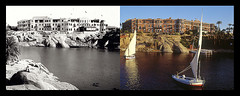 Sofitel Legend Old Cataract, Aswan - Then&Now (Historic Hotels of the World - Then&Now) Tags: old hotel exterior egypt grand historic 1900 historical then now aswan legend sofitel cataract thennow