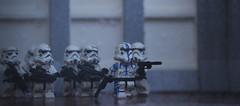 The Leading Commander (Kyle Hardisty) Tags: lighting shadow trooper macro field canon kyle lens photography rebel star lego fig mini wars pancake 40mm custom depth f28 sl1 minifigure 2016 brickarms hardisty