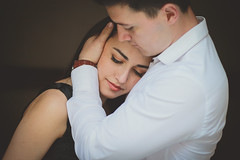 (noeemi34) Tags: world wedding summer people black green love film girl beauty fashion canon hair fun him engagement spring model hug shoot child arms wind outdoor watch happiness her ring adventure safe lookslikefilm ootd