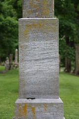 0U1A7817 Geneseo IL - Oakwood Cemetery - AYRES (colinLmiller) Tags: monument illinois headstone tombstone gravestone ayres footstone oakwoodcemetery 2016 geneseo