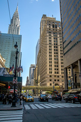 Street Corner (hydra25) Tags: street city nyc urban newyork chrysler chryslerbuilding