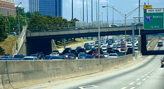 Waste Of Time (jim fleckenstein) Tags: timeseriesofphotos atlanta traffic atlantatraffic rushhour time wastedtime i75 canon 70d sigma24105mm sitting backup