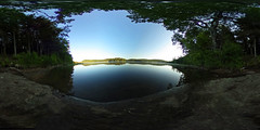 Browns Tract Pond - 360 Degree (Matt Champlin) Tags: camping summer lake swimming hiking peaceful 360 s adirondacks virtualreality boating summertime wilderness ricoh spherical adk degrees theta 360degrees equirectangular brownstractpond sphericalimage 360degreeimage ricohthetas