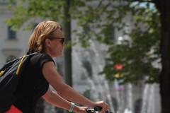 Biking (blondinrikard) Tags: people gteborg sweden folk streetphotography streetphoto sverige persons mnniskor gatufoto