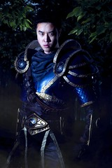 Kenny Cosplay - Garen (Cinematic) - League of Legends (observedfirefly) Tags: portrait cosplay lol armor legends cinematic kenny con league garen
