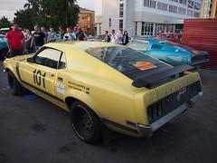 1970 - Ford Mustang (Jasonito) Tags: paris classic car russia rally olympus retro oldtimer motor  omsk challenge peking 6th omd the 2016    em5   parispeking beijingparis   panasonic14140mmf4058 omdem5