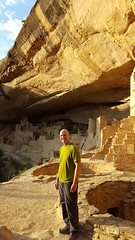 Fred at Cliff Palace