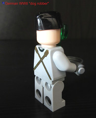 LEGO German WWII dogrobber (dmikeyb) Tags: dog lego general wwii german ww2 officer servant robber helper assigned dogrobber