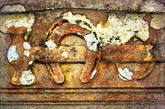 The Blacksmith (sbox) Tags: graveyard hammer scotland tombstone canvas textures gravestone horseshoe blacksmith kilmartin