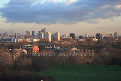 Canary Wharf to St Pauls Skyline from Primrose Hill (martin christopher-martin) Tags: skyline clouds stpauls canarywharf primrosehill londonskyline