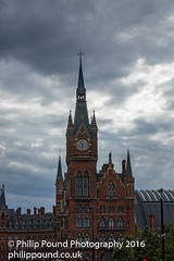 Renaissance Hotel near Kings Cross Station (Philip Pound Photography) Tags: tower clock station st hotel cross gothic kings pancras renaissance