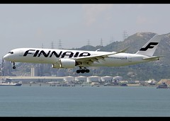 Airbus | A350-941 | Finnair | OH-LWA | Hong Kong | HKG | VHHH (Christian Junker | Photography) Tags: nikon nikkor d800 d800e dslr 70200mm plane aircraft airbus a350941 a350900 a350 a359 finnair ay fin ay069 fin069 finnair069 ohlwa oneworld heavy widebody beacon arrival landing 25r airline airport aviation planespotting 018 hongkonginternationalairport cheklapkok vhhh hkg clk hkia hongkong sar china asia lantau t2 terminal2 skydeck christianjunker flickraward zensational flickrtravelaward worldtrekker superflickers hongkongphotos a350xwb