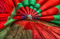 Inside the Balloon (AJ Photographic Art) Tags: ajphotographicart johnhoeyhdr kingston newengland ri rhodeisland travel balloon color festival hotairballoon