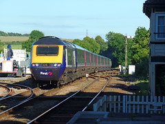 43139 Liskeard (2) (Marky7890) Tags: fgw gwr 43139 class43 hst 1a98 liskeard railway station cornwall train