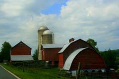 IMG_8848 (bulletproofsoul67) Tags: nature barn farm country red pennsylvania waynecounty