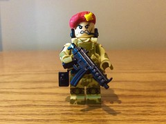 British parachute regiment (Brick Operator) Tags: beret lego british parachute regiment camo military