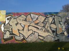 RIP FISH (Brighton Rocks) Tags: fish graffiti brighton rip