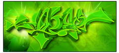 hoper green (Hoper 1) Tags: wallpaper graffiti design 3d artist drawing digitalart adobe illustrate hoper digitalsketch digitalgraffiti graffiti3d vectorgraffiti photoshopcs6 vectorpiece