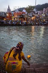 Devotion (Ashmalikphotography) Tags: travel worship faith religion adventure temples devotion hindu ganga haridwar bhakti gangaaarti spirtual uttarakhand harkipaudi lifemeinekbaar