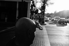 Untitled (ajkpix) Tags: california street people urban blackandwhite bw man losangeles candid scattidistrada
