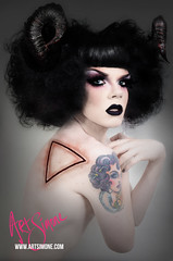 Art Simone (artsimoneofficial) Tags: gay art fashion race jack drag photography artist simone top arts australia melbourne queen vogue horror count ngv daye galazy jackula rupauls artsimone