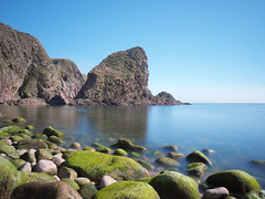 Rock (M1184813 E-M1 12mm iso200 f8 15s 1ev) (Mel Stephens) Tags: 20150418 201504 2015 olympus omd em1 microfourthirds mirrorless scotland aberdeenshire uk bullers buchan coast coastal landscape seascape pro 1240mm sea scape mzuiko m43 f28 28 gps q2