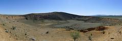 volcanic crater - Gran Desierto de Altar y Biosfera de Pinacate - World Heritage Site (en_la_bici) Tags: world heritage sonora de mexico site colorado el altar cerro gran desierto pinacate