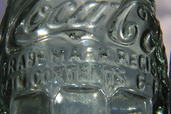IMG_8497 (ultomatt) Tags: glass vintage bottles pop soda cocacola cokebottles