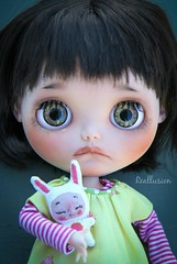 Mini BeBe Bunny (BeBe Babies and Friends) Tags: photography doll dolls babies mini bebe blythe reallusion