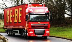 DAF 105 XF GE-BE Transport AE12AMV  Frank Hilton 23032015 133 (Frank Hilton.) Tags: classic truck frank photos transport hilton lorry trucks frankhilton23032015