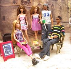 'Farrell - a cheat in action' (mydollfamily) Tags: barbie teresa fashionista fashiondoll mattel diorama lifeinthedreamhouse kenaaken