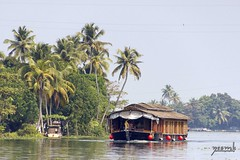 Alleppey (Yesmk Photography) Tags: india day kerala boathouse alleppey muthukumar alleppeybackwaters yesmkphotography