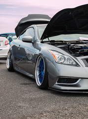 Matt's G37Coupe (Antrell Williams) Tags: auto show white cars face car japan canon honda mercedes benz louisiana no low lifestyle off best problem toyota bmw bags mazda rx7 import rx8 coupe hdr mitsubishi rotary 240sx fairlady raceway coilovers camber ifo bagged 180sx lglass 70d 13b stanced loweezyana