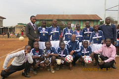 Kabiro school's tournament winners