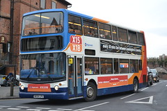 Stagecoach Midlands 18189 MX54LPU (Will Swain) Tags: uk travel england bus buses march town britain crash centre transport leamington sainsburys coventry 12th spa midland stagecoach fatal midlands rta 2015 18189 mx54lpu