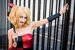 Girls of Geek Gotham shoot (The Comic Kid Photography) Tags: new two face portraits mexico photography photo cosplay joke albuquerque harley portraiture batman joker op gotham