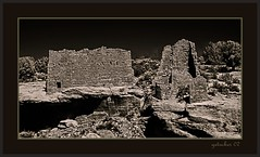 Hovenweep Ruins 3 (the Gallopping Geezer 3.5 million + views....) Tags: bw white house black west abandoned home canon utah blackwhite ruins colorado village native decay indian culture roadtrip nativeamerican faded worn western ghosttown weathered earlyamerican derelict wildwest decayed americanwest geezer americanindian 2007 corel dwelling oldwest hovenweep west07925
