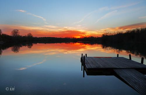 Lago Ventalló  atardecer 9986