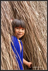 Indiazinha Kuikuro (Lourdes Peres) Tags: indio tocadaraposa kuikuro