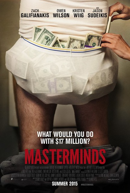 Masterminds Trailer Starring Zach Galifianakis and Kristen Wiig