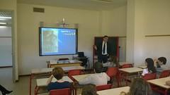 Scuola Media Ro Ferrarese conferenza dott. Ferretti sul tabagismo
