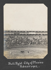 Bull Fight, City of Mexico, Feb 23rd, 1902 (SMU Central University Libraries) Tags: bullfighters bullfights bullrings