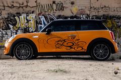 mini cooper s 2015 (mr.alkhaledi) Tags: cars sport photoshop canon graffiti sticker desert mini cooper kuwait supercar q8 lightroom