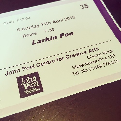 #tonight #gig @larkinpoe