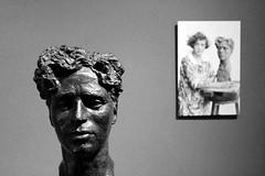 bust by Clare Sheridan (overthemoon) Tags: sculpture schweiz switzerland suisse explore bust photograph charlot svizzera charliechaplin 171 vaud romandie claresheridan corsiersurvevey chaplinsworld